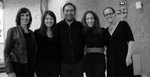 The Quartet with Tenor soloist, Dan Ansaldo